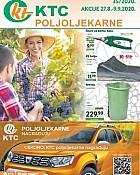 KTC katalog Poljoljekarne do 9.9.