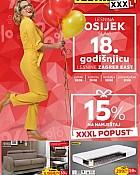 Lesnina katalog 18. godišnjica Osijek do 31.8.
