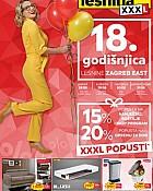 Lesnina katalog 18. godišnjica do 31.8.