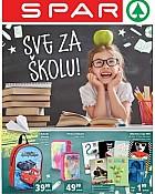 Spar katalog Sve za školu