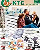 KTC katalog Sve za bebe do 7.10.