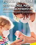 Metro katalog Dezinficijenski i maske