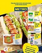 Metro katalog Prehrana Zagreb do 30.9.