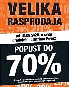 Pevex katalog Velika rasprodaja od 10.9.