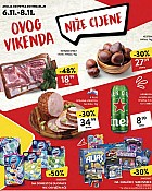 Konzum vikend akcija do 8.11.