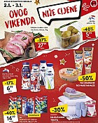 Konzum vikend akcija do 3.1.