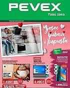 Pevex katalog veljača 2021