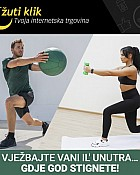 Žuti klik webshop akcija 20 posto na sprave za vježbanje