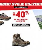 Alpina webshop akcija do 40% i besplatna dostava sportska obuća