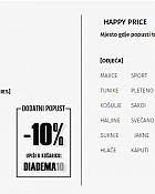 Diadema webshop akcija 10 posto na već sniženo