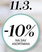 Douglas webshop akcija 10% na cjelokupni asortiman samo 11.03.