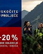 Intersport webshop akcija 20% na nove kolekcije