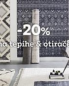 Momax webshop akcija 20% na tepihe i otirače