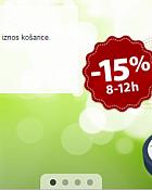 TopShop webshop akcija Happy Hours 24.03.