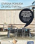 JYSK katalog Vrtni namještaj za poslovne korisnike