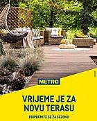 Metro katalog Vrijeme je za novu terasu