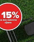 Pevex vikend akcija -15% popusta