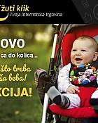 Žuti klik webshop akcija popust na asortiman za bebe