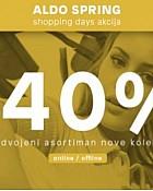 Aldo webshop akcija 40% Nova kolekcija obuće i torba