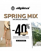 Alpina webshop akcija 40% na drugi artikl