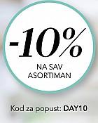 Douglas webshop akcija 10% na sve samo 08.04.