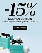 Douglas webshop akcija 15% na sav asortiman
