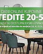 Jysk webshop akcija Dani online kupovine do 02.05.
