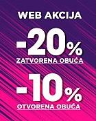 Mass webshop akcija do 20% popusta
