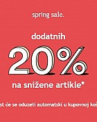 Orsay webshop akcija 20% na snižene artikle