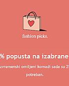 Orsay webshop akcija 25% na izabrane proizvode