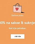 Orsay webshop akcija 30% na sakoe i suknje