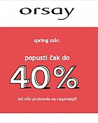 Orsay webshop akcija do 40% popusta