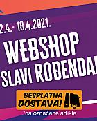 Pevex webshop akcija do 18.04. + besplatna dostava