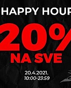 Sport Vision webshop akcija Happy hours 20.04.