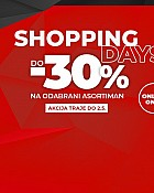 Sport Vision webshop akcija Shopping days