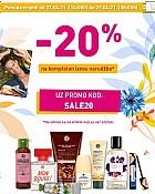 Yves Rocher webshop akcija 20% na kompletan iznos narudžbe