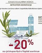 Yves Rocher webshop akcija Hydra Vegetal kozmetika