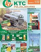 KTC katalog Poljoljekarne do 21.4.
