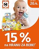 Muller akcija -15% hrana za bebe