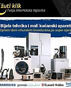Žuti klik webshop akcija Bijela tehnika i mali kućanski aparati