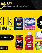 Žuti klik webshop akcija Supermarket do 50% popusta