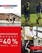 Intersport webshop akcija Međusezonski popusti