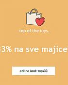 Orsay webshop akcija 33% na sve majice