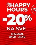 Sport Vision webshop akcija Happy hours 13.05.