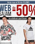 Sport Vision webshop akcija Web sajam do 50% popusta