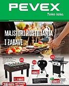 Pevex katalog Roštilji