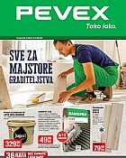 Pevex katalog Sve za majstore graditeljstva