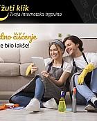 Žuti klik webshop akcija Proizvodi za čišćenje