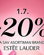 Douglas webshop akcija 20% na Estee Lauder