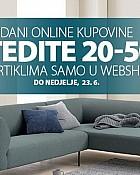 Jysk webshop akcija Dani online kupovine